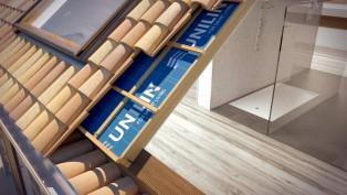 isolation de toiture par l'extérieur © Unilin