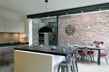 Ouverture dans mur porteur avec IPN Cuisines Bains Magazine