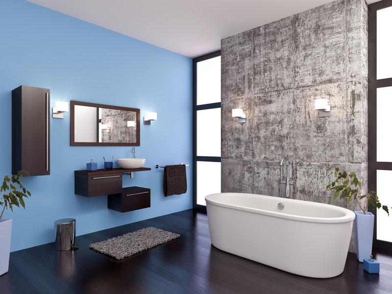 Peinture pour salle de bains @Mr Bricolage