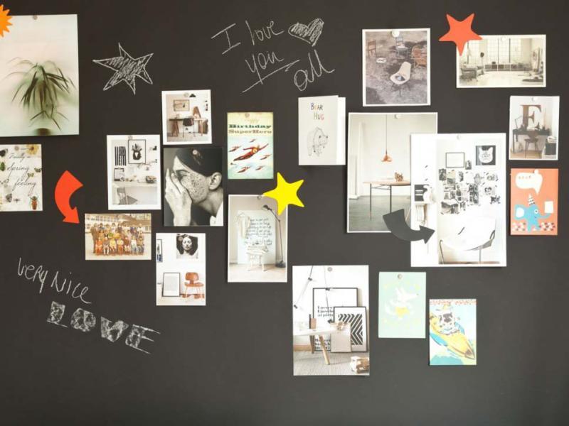 La peinture magnétique pour transformer les murs en panneaux d'affichage aimanté @Coolgift