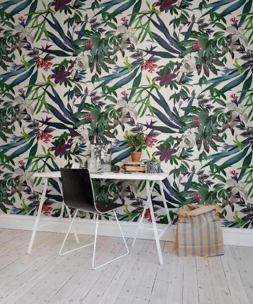 Papier Peint Tropical 1 © Rebel Walls - 53 euros le m²