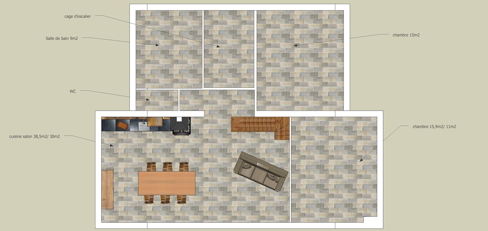plan d'appartement cc0 public domain - travaux