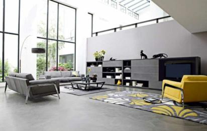 Idee deco design salon