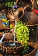 Vase fontaine