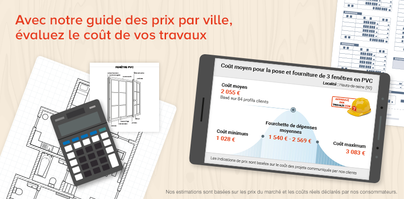 guide des prix r novation par ville. Black Bedroom Furniture Sets. Home Design Ideas