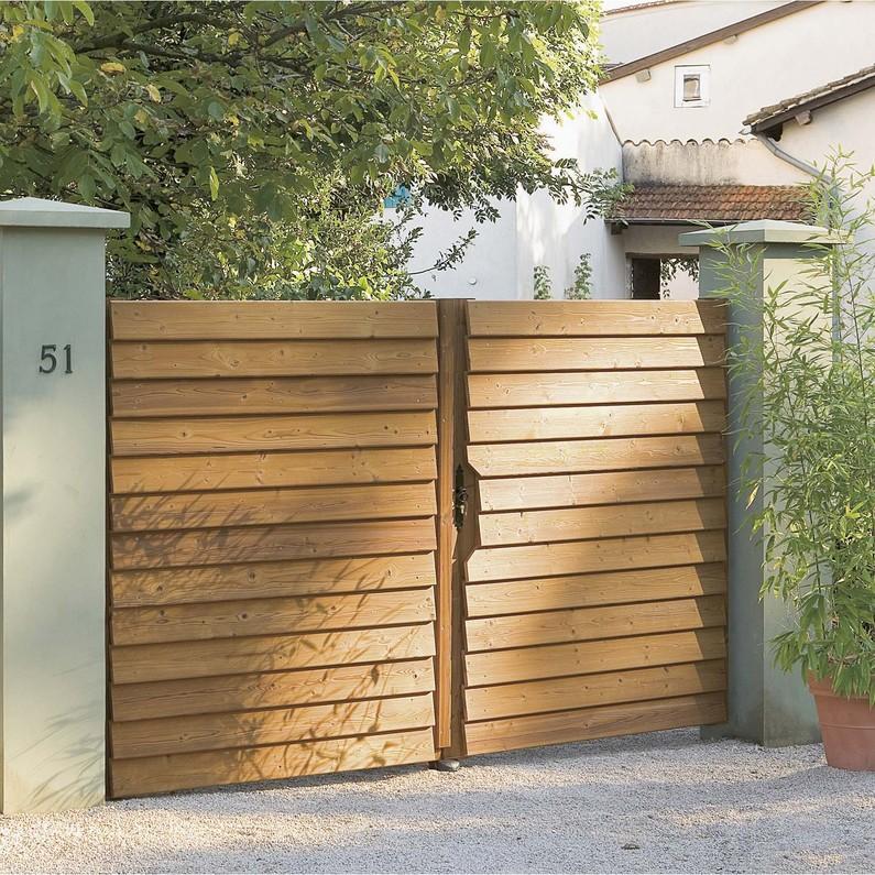Exemple De Devis Installation Dun Portail En Bois Travauxcom