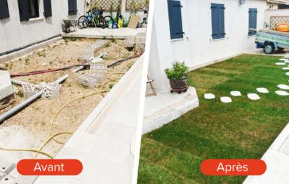 Avant-après : Aménagement extérieur d'un jardin à l'abandon